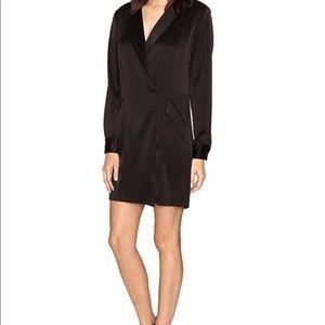 49193b8f6559 Halston Heritage Dresses - Halston Heritage Long Sleeve Tuxedo Dress